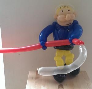balloon fireman