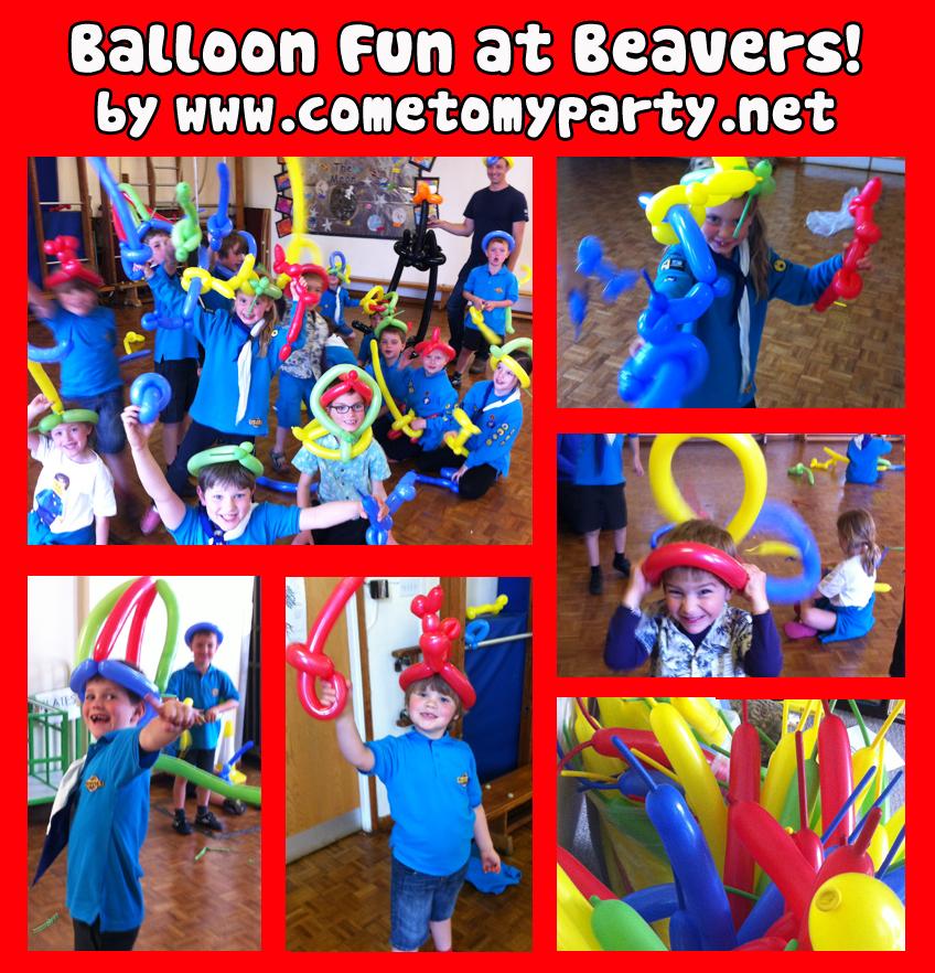 beavers balloons