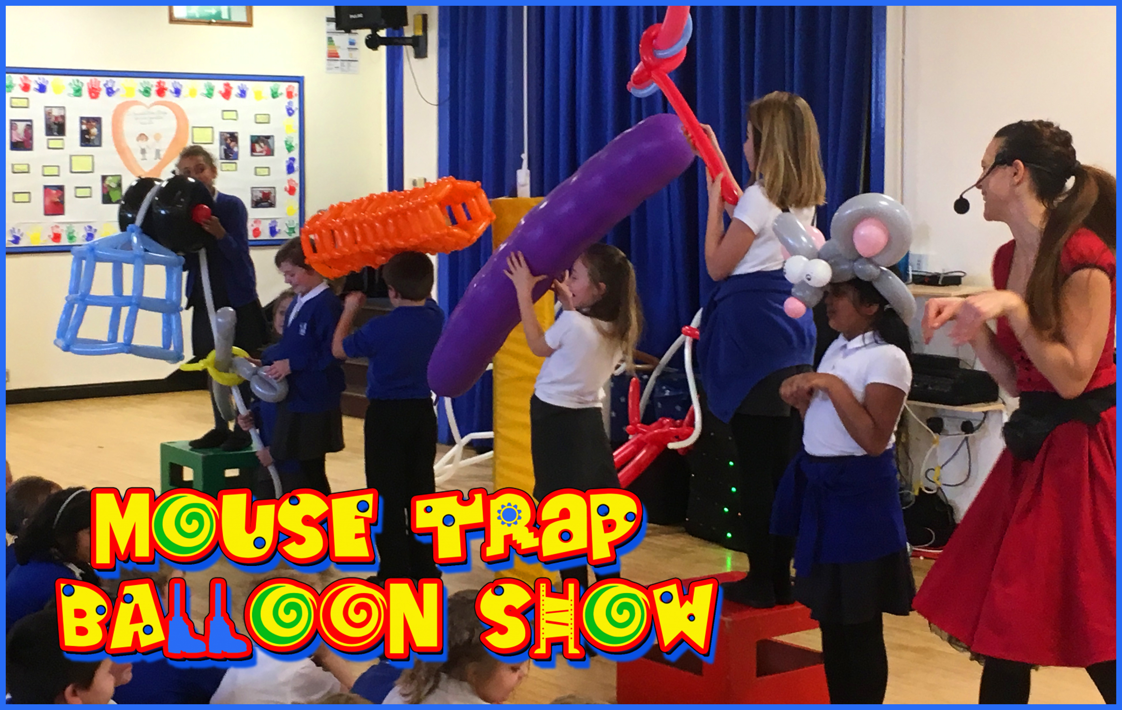 primary school science assembly show