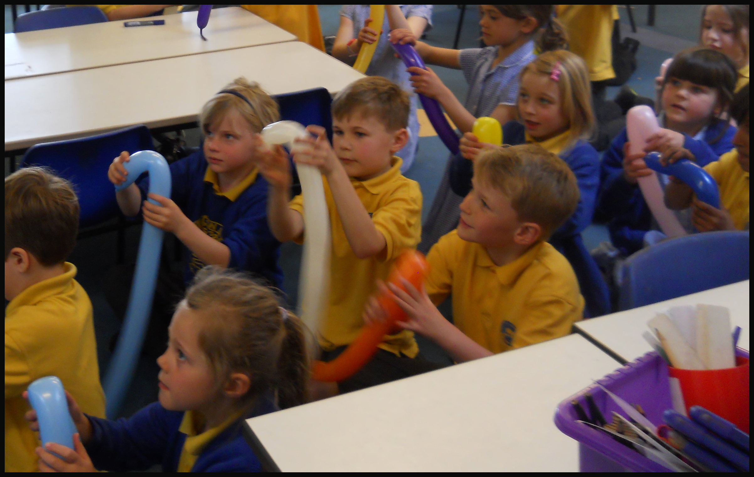 School classroom workshops & science assemblies