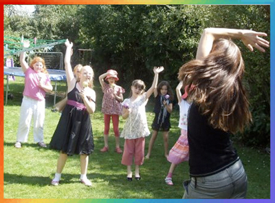 pop star party oxfordshire