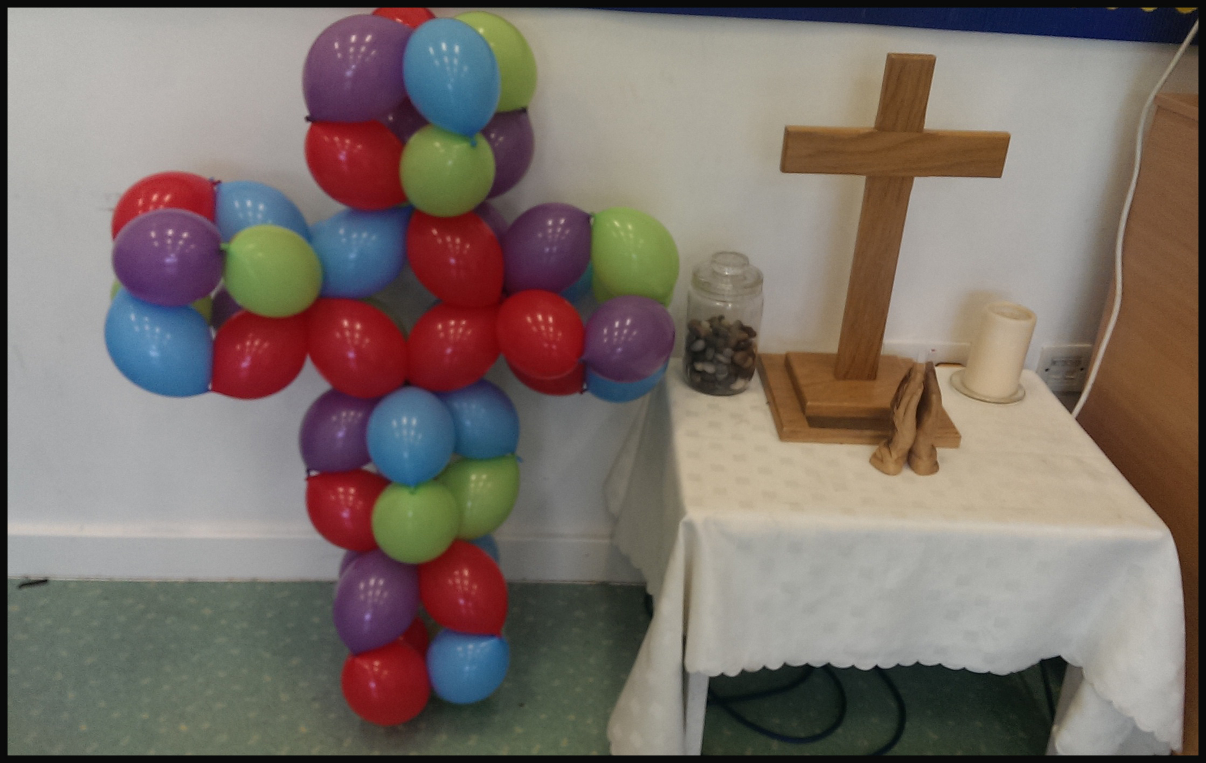 balloon cross
