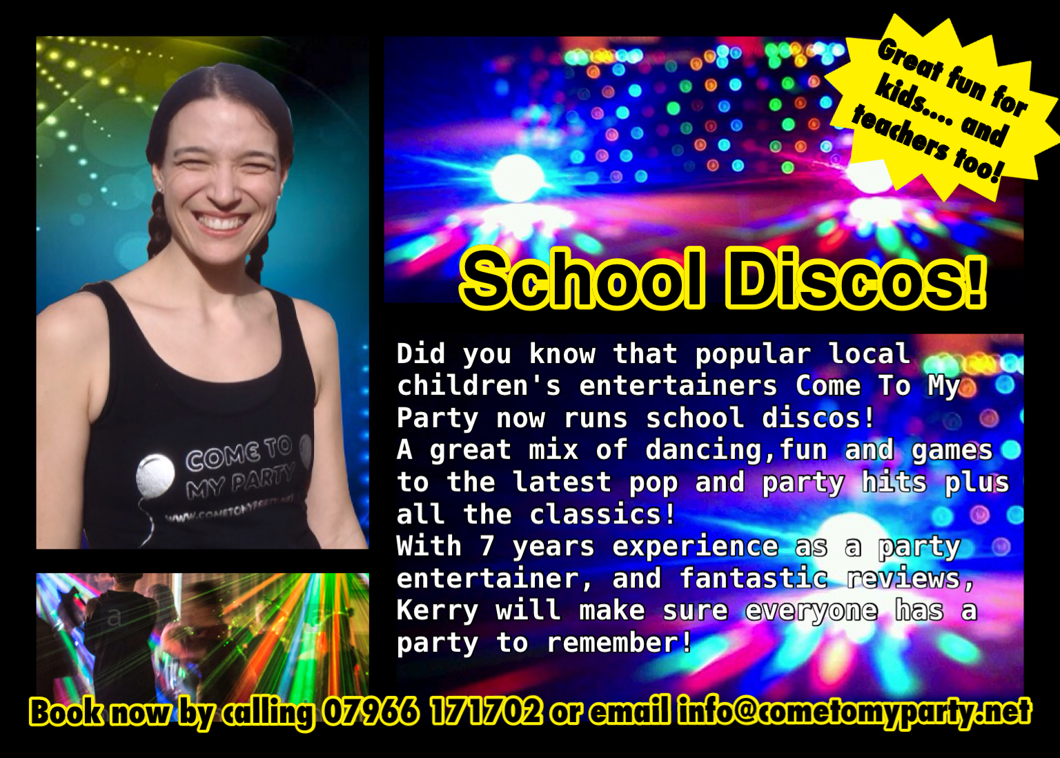 school discos banbury