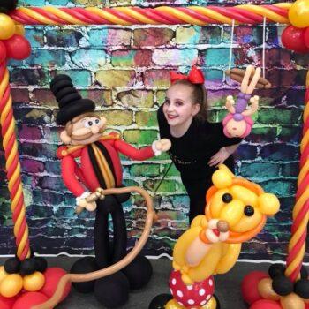 circus balloon frame