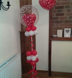 ruby wedding balloon