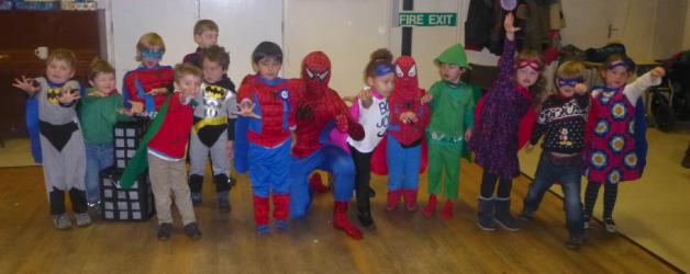 Superhero fun in Oxford!