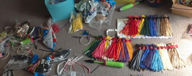 Balloon bag organising
